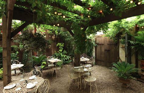 backyard garden restaurant 5 ways to go green blog food fanatics