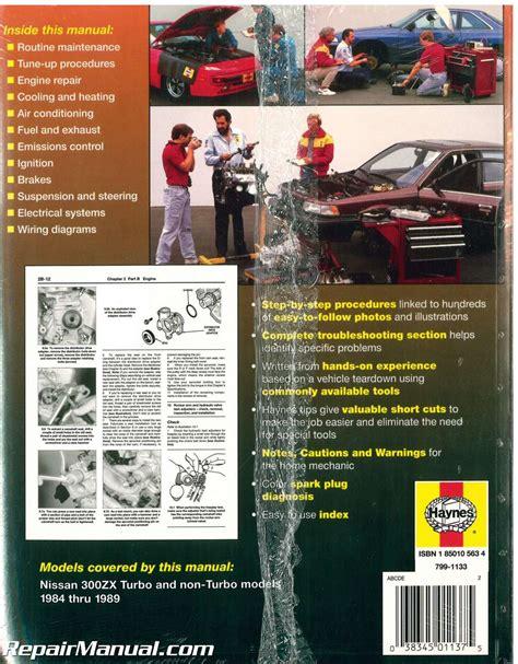 what is the best auto repair manual 1989 honda accord lane departure warning haynes nissan 300zx 1984 1989 auto repair manual