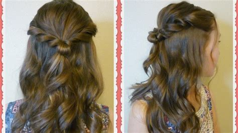 Prom Hairstyles Up by Easy Prom Hair Tutorial Twist Half Up Hairstyle