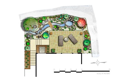 japanese garden layout garden design in winfield