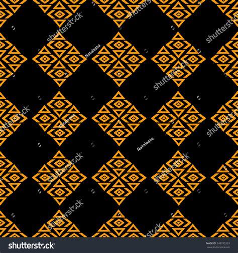 tribal pattern black and gold aztec tribal art seamless pattern in black and gold