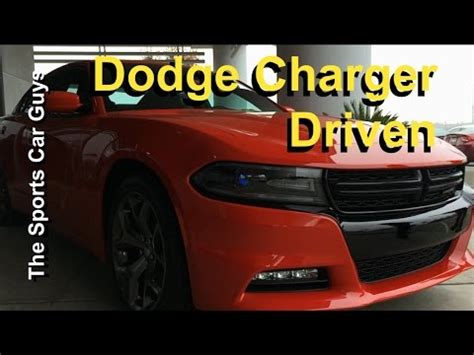 2015 dodge charger driven should you get the r t the