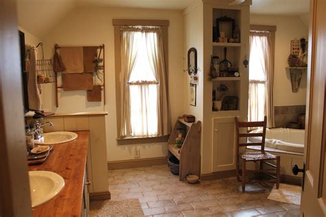 primitive country bathroom ideas project house our room on pinterest primitive bathrooms