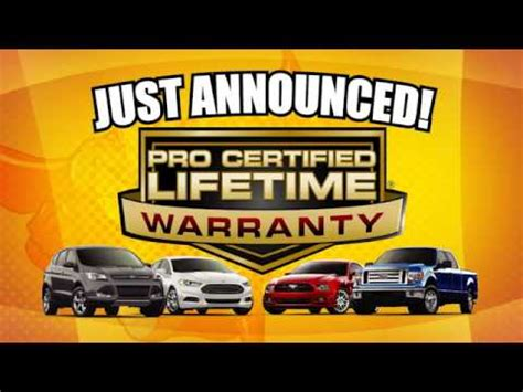 Pundmann Ford by Pundmann Ford Lifetime Warranty