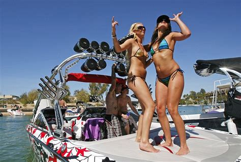 boat rs near disappearing island the 15 trashiest spring break destinations revealed and