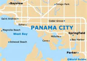 panama city maps and orientation panama city florida