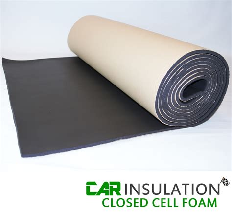 Insulating Self Bording 050mmx20mmx10mtr 5m2 6mm self adhesive closed cell foam sound heat insulation