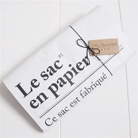 sle paper le sac en papier the paper bag villa madelief