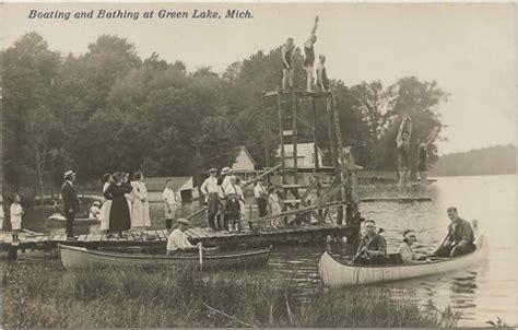 green lake boat launch michigan lake directory home allegan green lake alleqan county