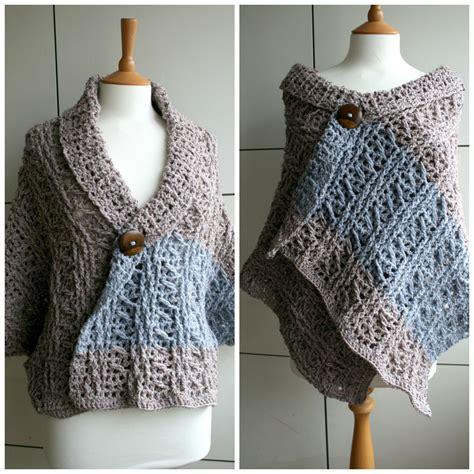 crochet diy diy fall wrap sweater crochet pattern luz patterns