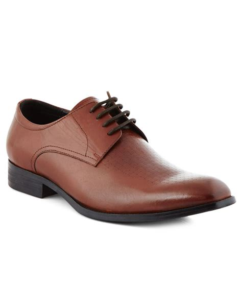 steve madden brown formal shoes at snapdeal