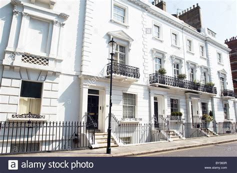 houses to buy in west london front facade of a georgian terrace property in west london stock photo royalty free