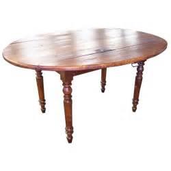 Oval Drop Leaf Table Antique Oval Drop Leaf Table At 1stdibs