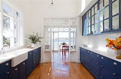 white and blue kitchen cabinets blue kitchen my blue kitchen pinterest cobalt blue