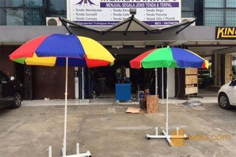 Tenda Membrane Warna Warni tenda payung parasol berbagai ukuran jakarta barat jualo