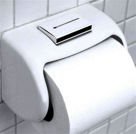 Bathroom Gadgets by Bathroom Gadgets Matchbox Holding Toilet Paper Dispenser