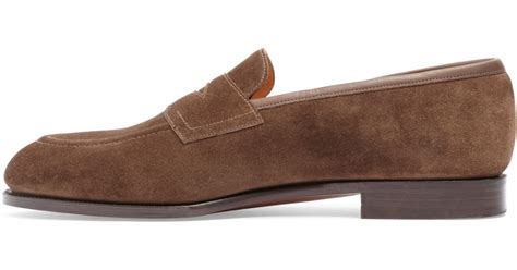 brothers suede loafers brothers edward green piccadilly suede loafers in