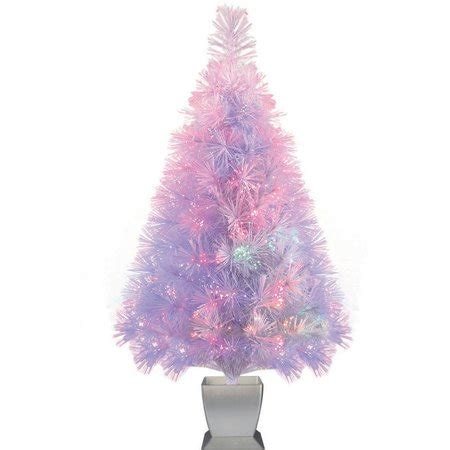 white fibre optic christmas tree time artificial trees pre lit 32 quot fiber optic artificial tree white color