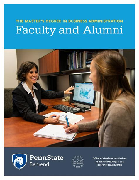 Mba Psu 2016 by Faculty And Alumni Of The Mba At Penn State Behrend By