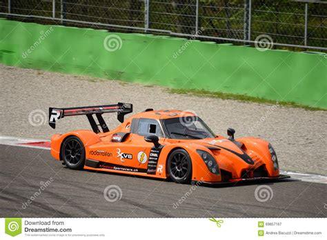 Motor Radical V8 by Radical Rxc V8 Car Test At Monza Editorial Photography
