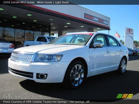 2009 Lincoln Mkz by White Suede 2009 Lincoln Mkz Sedan Light