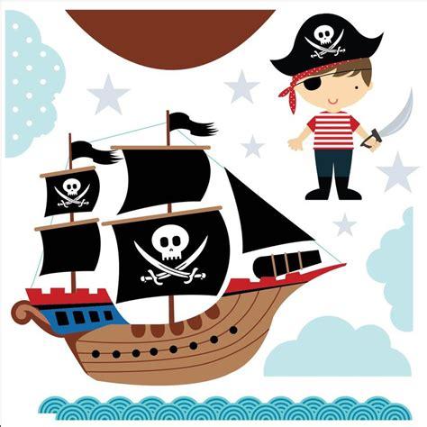 barco pirata infantil para imprimir kit de vinilo auto adhesivo barcos y piratas infantiles