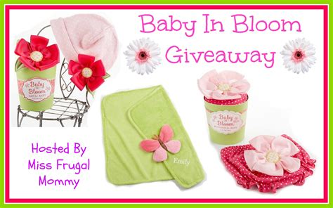 Baby Giveaways 2014 - nanny to mommy baby in bloom giveaway event ends 5 2