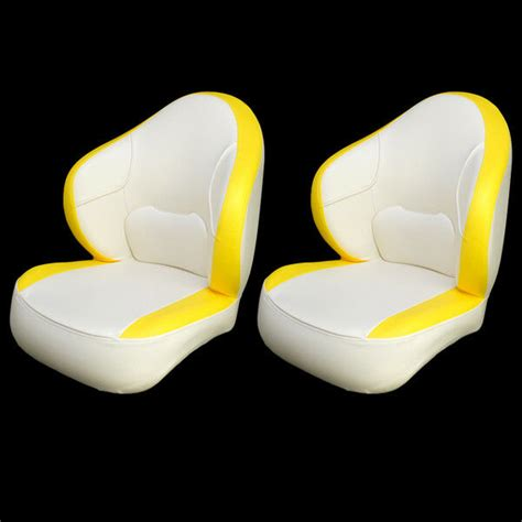 yellow boat seats for sale white and yellow boat seats in stock