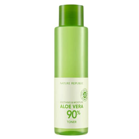 Nature Republic Soothing And Moisture Aloe Vera 90 Toner soothing moisture aloe vera 90 toner naturerepublic usa