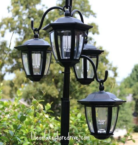 Solar L Post Light Planter by Easy Diy Solar Lights L Post With Flower Planter Hometalk