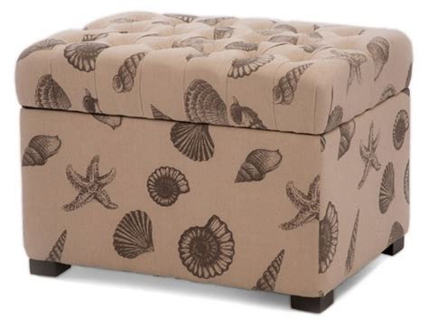 Custom Fabric Ottoman Custom Fabric Storage Ottoman Home Design Ideas
