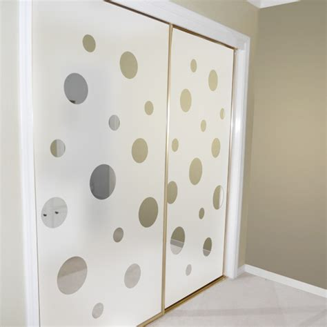 Wallpaper Closet Doors by Closet Door Alternatives Mirrored Closet Doors Decorated