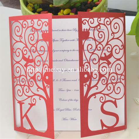 Wedding Card Wholesale by Wedding Card Wholesale Tree Pearl Paper Cards Blue And