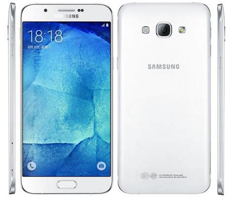 Samsung A8 White samsung galaxy a8 features specifications details