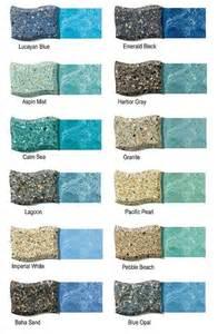 pool plaster colors pool colors for gunite home design