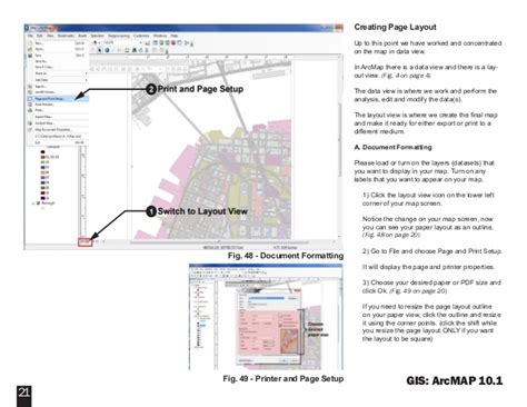 arcmap layout view background color nycct gis primer tutorial