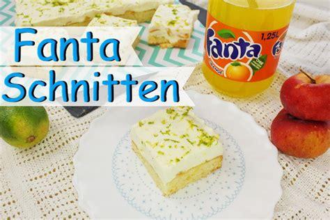 kuchen mit mascarpone creme fanta schnitten backen fantakuchen rezept mit sahne