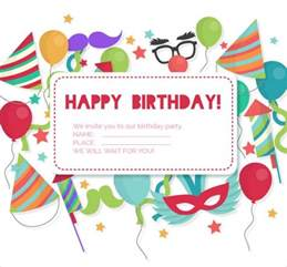 Invitation Card Birthday Design 27 Birthday Invitation Designs Free Premium Templates