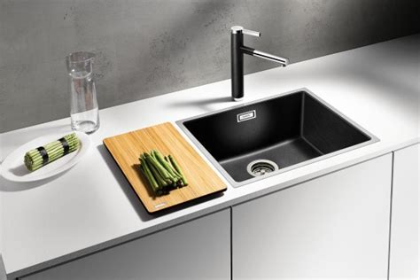 SUBLINE Steelframe   the SILGRANIT sink elegantly framed