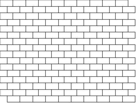 brick pattern line drawing bricks can be easily drawn