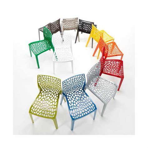 grand soleil sedie sedia impilabile per bar cucina in polipropilene design