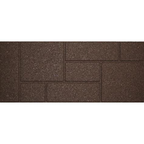 envirotile cobblestone 10 in x 36 in earth stair tread