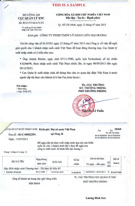 How To Apply ? Business Visa to Vietnam
