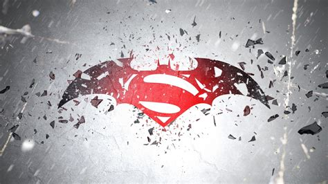 wallpaper movie batman vs superman batman v superman 2016 movie logo hd wallpaper