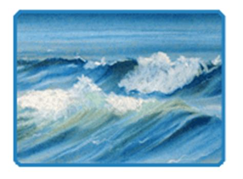 drawing a basic wave can be but after a while it can how to draw waves a demonstration with soft pastels