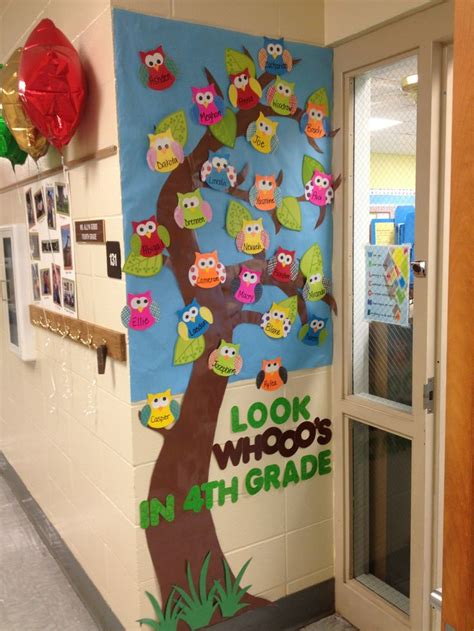 104 Best Owls Images On Owl Classroom Ideas - owl bulletin board for open house use scrapbook