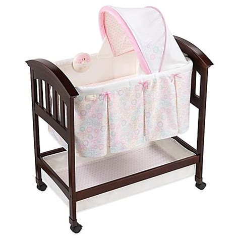 classic comfort wood bassinet summer infant 174 classic comfort bedtime blossom wood