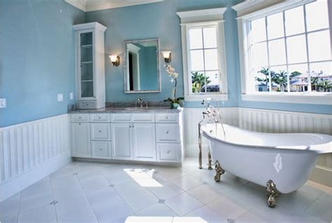 wainscot bathroom diy house ideas