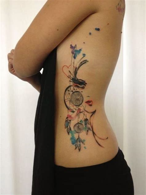 dreamcatcher rib tattoo meaning 185 best images about tattoos on pinterest star tattoos