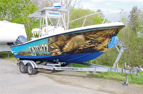 pictures of fishing boat wraps vehicle wraps ericthedesigner net